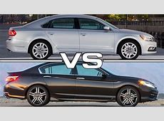 2016 VW Passat vs 2016 Honda Accord YouTube