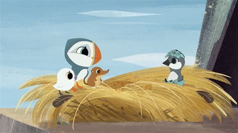 puffin rock hatches  picture book