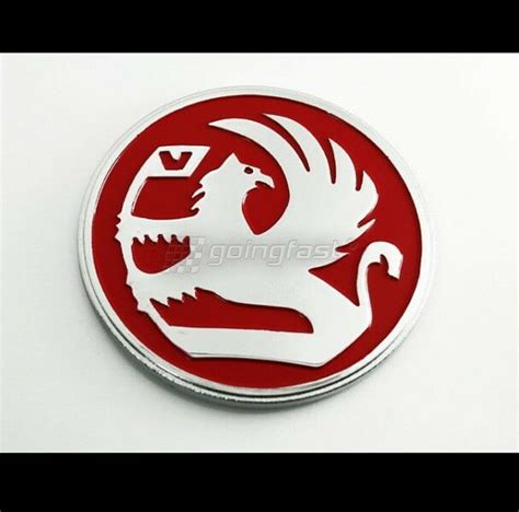 red griffin badge emblem decal vauxhall opel holden gm