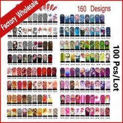 Promotion hundreds designs nail art water decals