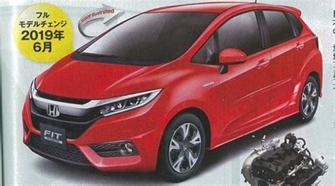 This Is How The 2019 Honda Fit Will Look Like, According