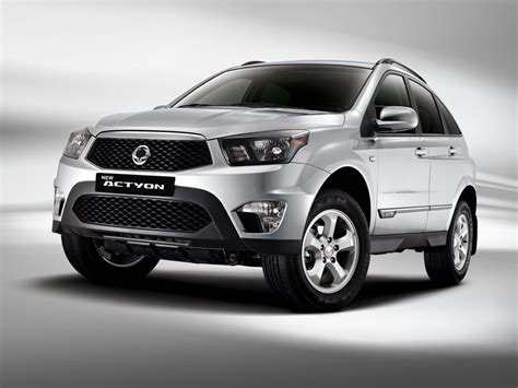 2014 Ssangyong Actyon facelift official image comes online