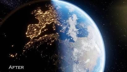 Earth Visuals Night Improvements Map Lights