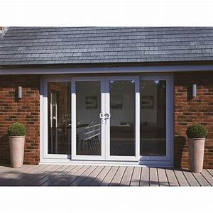 Att Fabrications M10 Upvc Patio Door Set 2990mm X 2090mm 2 Centre Sliding Panels