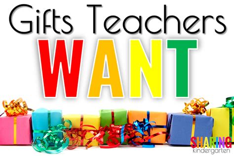 Gifts Teachers Want  Sharing Kindergarten Bloglovin'