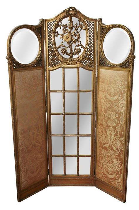 dressing folding screen giltwood 3 panel screen interiordesign interior