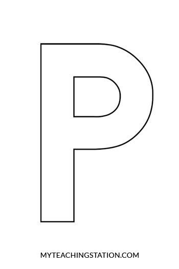letter p craft penguin myteachingstationcom