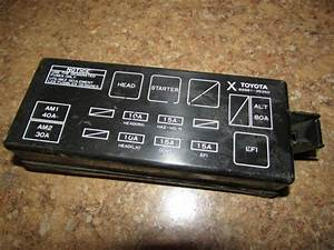 1995 Toyota Camry Fuse Box