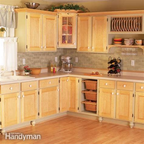 Kitchen Cabinet Doors Facelift by Cabinet Facelift The Family Handyman