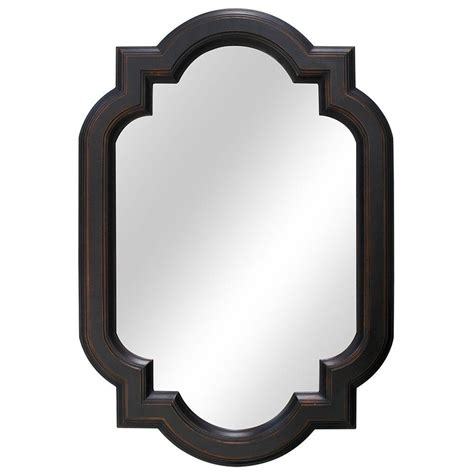 Rubbed Bronze Bathroom Mirrors Walmart by New Hanging Bathroom Wall Mirror Vanity Framed Bronze Home