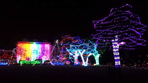 awesome christmas lights in nichols hills youtube