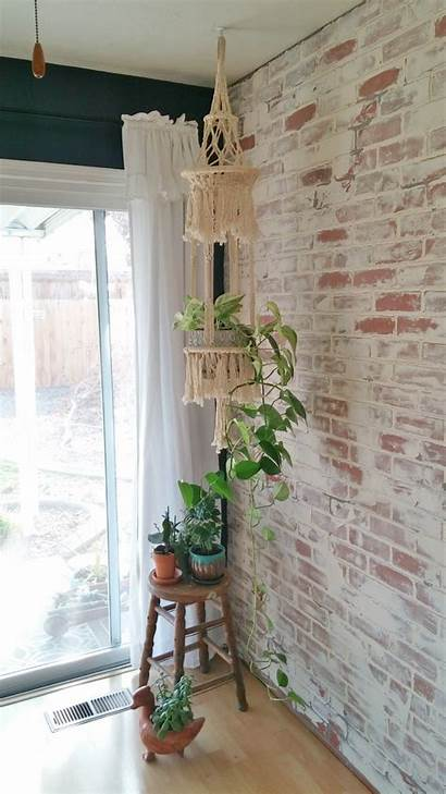 Brick Wall Schmear German Faux Living Makeover