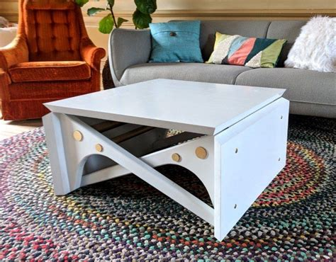 Most foldable tables in the event furniture industry offer steel tubed legs and have reinforced on regular tubular steel legs. Convertible Coffee Table Tutorial and Plans! | Reality Daydream in 2020 | Convertible coffee ...