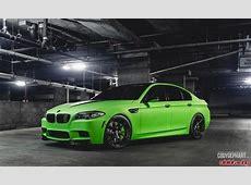 Toxic Green BMW F10 M5 Represents Vivid Racing at 2014