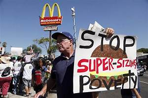 Fast food strikes: Hundreds of workers walk out across the ...