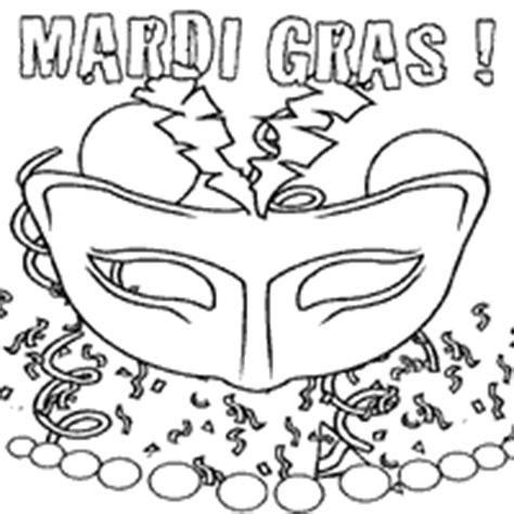 mardi gras coloring pages surfnetkids