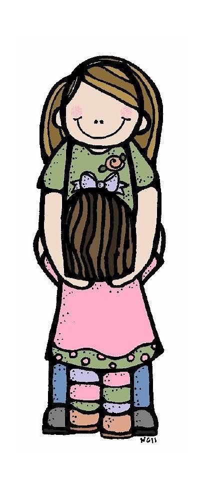 Melonheadz Hug Google Clip Illustrating Daughter Clipart