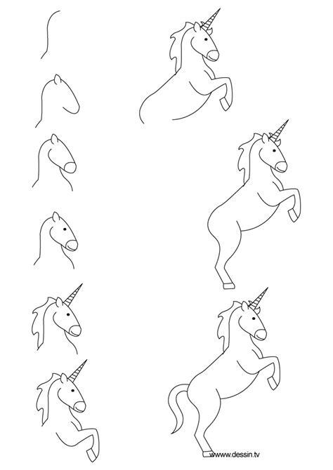 drawing unicorn