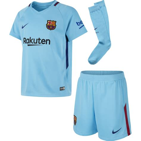nike barcelona away mini kit 2017 2018 nike from excell sports uk