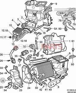 5045158  Saab Resistor - Interior Blower  W   Acc