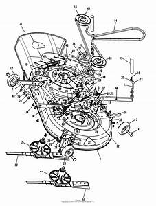Snapper Hzs14380bve 38 U0026quot  14 Hp Ztr Yard Cruiser Series 0 Parts Diagram For 38 U0026quot  Mower Deck Assembly