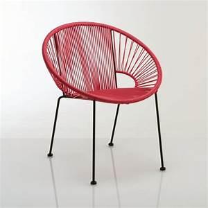 Fauteuil De Jardin Rond : fauteuil de jardin joalie la redoute interieurs la redoute ~ Teatrodelosmanantiales.com Idées de Décoration