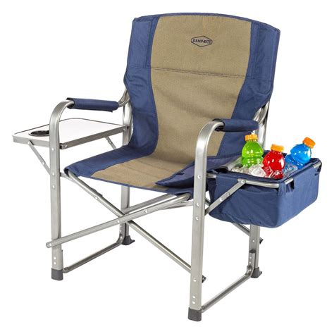 cing chair with side table k rite cc118 director 39 s chair with side table and cooler