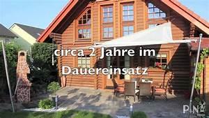 Pina Sonnensegel Aufrollbar : sonnensegel aufrollbar fuer die terrasse youtube ~ Sanjose-hotels-ca.com Haus und Dekorationen
