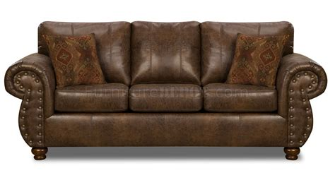 microfiber or leather sofa brown smokey leather like microfiber classic sofa