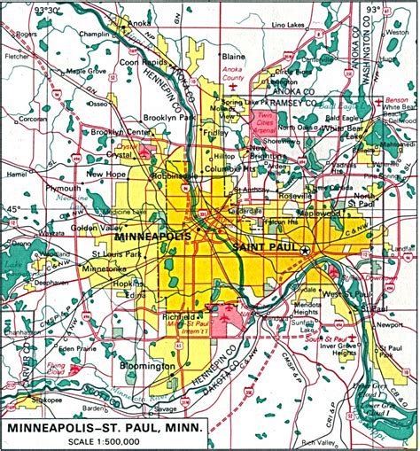 Minnesota Maps - Perry-Castañeda Map Collection - UT ...