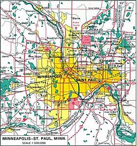 Minnesota Maps - Perry-casta U00f1eda Map Collection