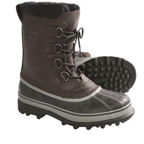 sorel caribou winter snow pac boots mens  nib car