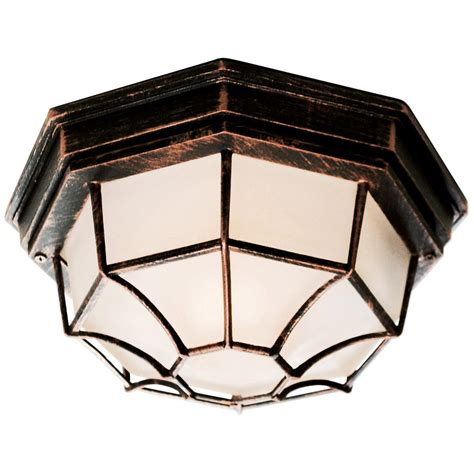 spider web 11 quot flush mount outdoor light 236094