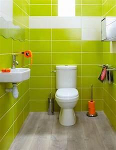 Deco Pour Wc : 10 couleurs pour la d co des toilettes toilettes pinterest ~ Teatrodelosmanantiales.com Idées de Décoration