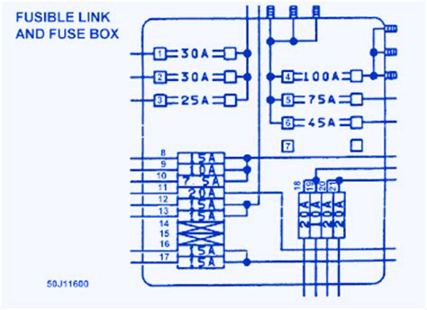 1994 Infiniti J30 Wiring Diagram by Infinity J30 1997 Abs Fuse Box Block Circuit Breaker