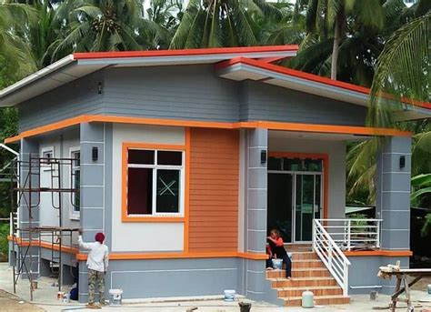 house plan  today   single storey house  simple layout reduced costs  const