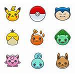 Pokemon Icons Icon Svg Flaticon Packs Vector