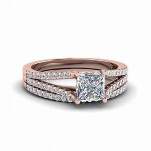 buy 18k rose gold wedding ring sets online fascinating With buy wedding ring sets online