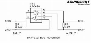Parasitic Power And An Ltc490 As Dmx  Rs485  Bus Repeater