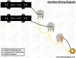 Image Of Jazz Bass U00ae Wiring Kit