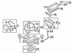Dodge Stratus Engine Valve Cover Gasket  Liter  Models