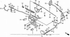 Honda Ha4118 H38a Lawn Tractor  Usa  Vin  Mzch