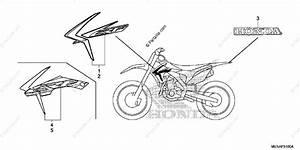 Honda Motorcycle 2013 Oem Parts Diagram For Mark    Stripe