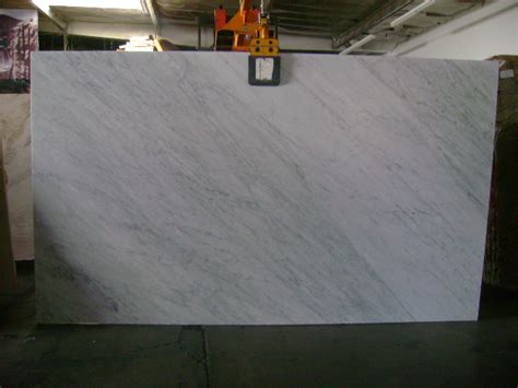 white carrara marble polished and honed