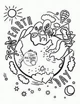 Earth Coloring Pages Quiver Printable Drawing Celebration Recycling Printables Colour Crayola Birijus Sheets Adult Environment Wuppsy Drawings Worksheets Land Books sketch template