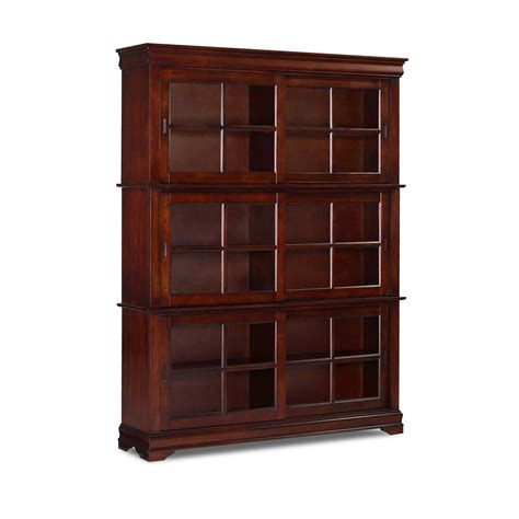 barrister bookcases with glass doors oak barrister bookcase to organize your books