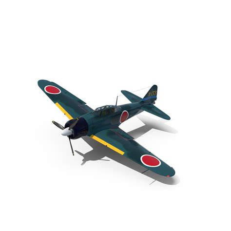 Wwii Fighter Aircraft A6m Zero Png Images & Psds For