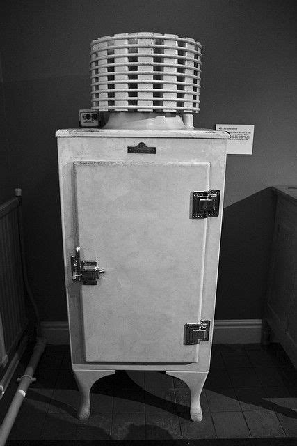 old fridge 1920's   Old school..   Pinterest   To be