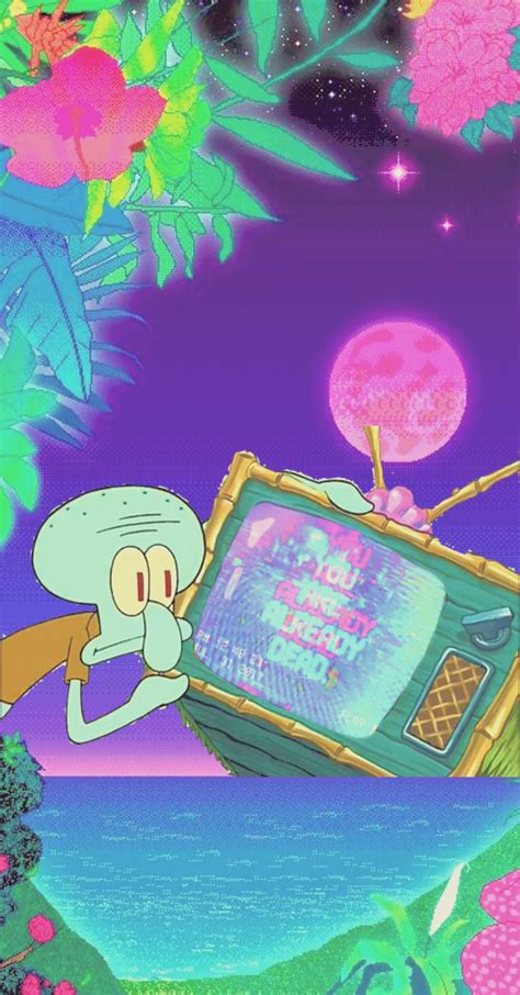 squidward aesthetic wallpapers