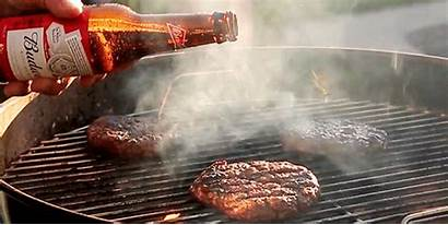 Cooking Barbecue Grilling Bbq Beer Burger Budweiser